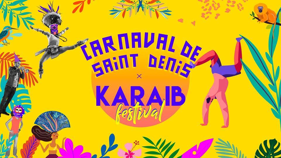 Carnaval de Saint-Denis x Karaib Festival le 6 juillet