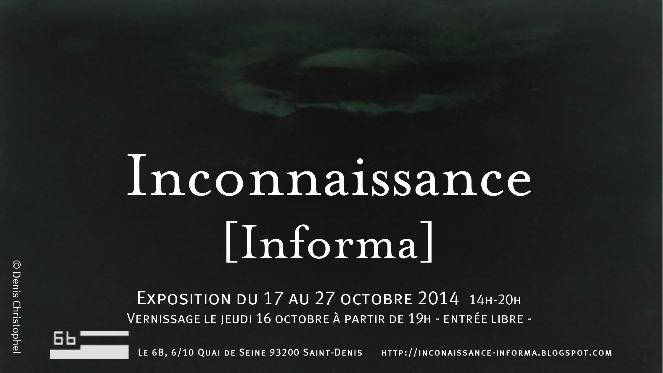 Inconnaissance 2014
