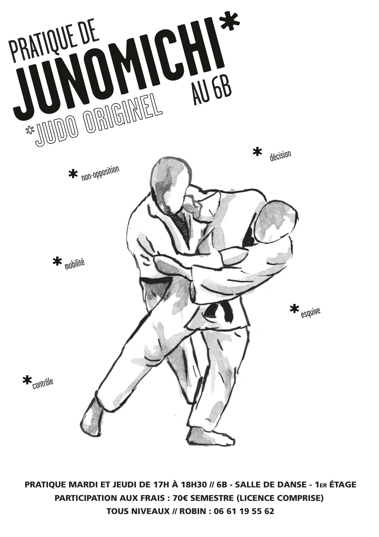Cours de Junomichi au 6b