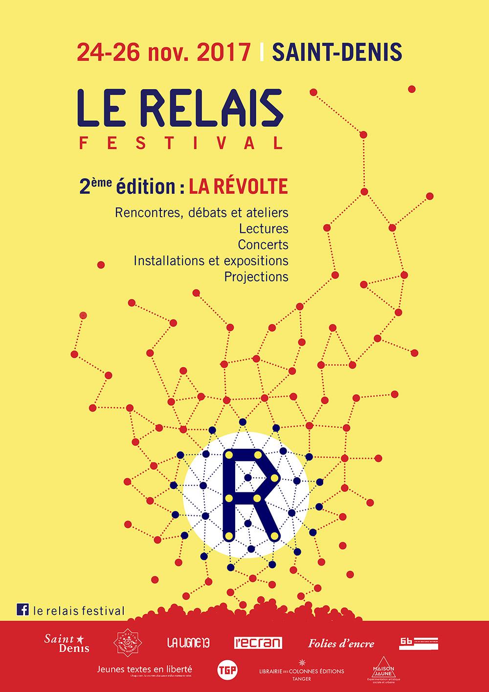 Le Relais Festival 2ème édition La Révolte @ Saint-Denis | Île-de-France | France
