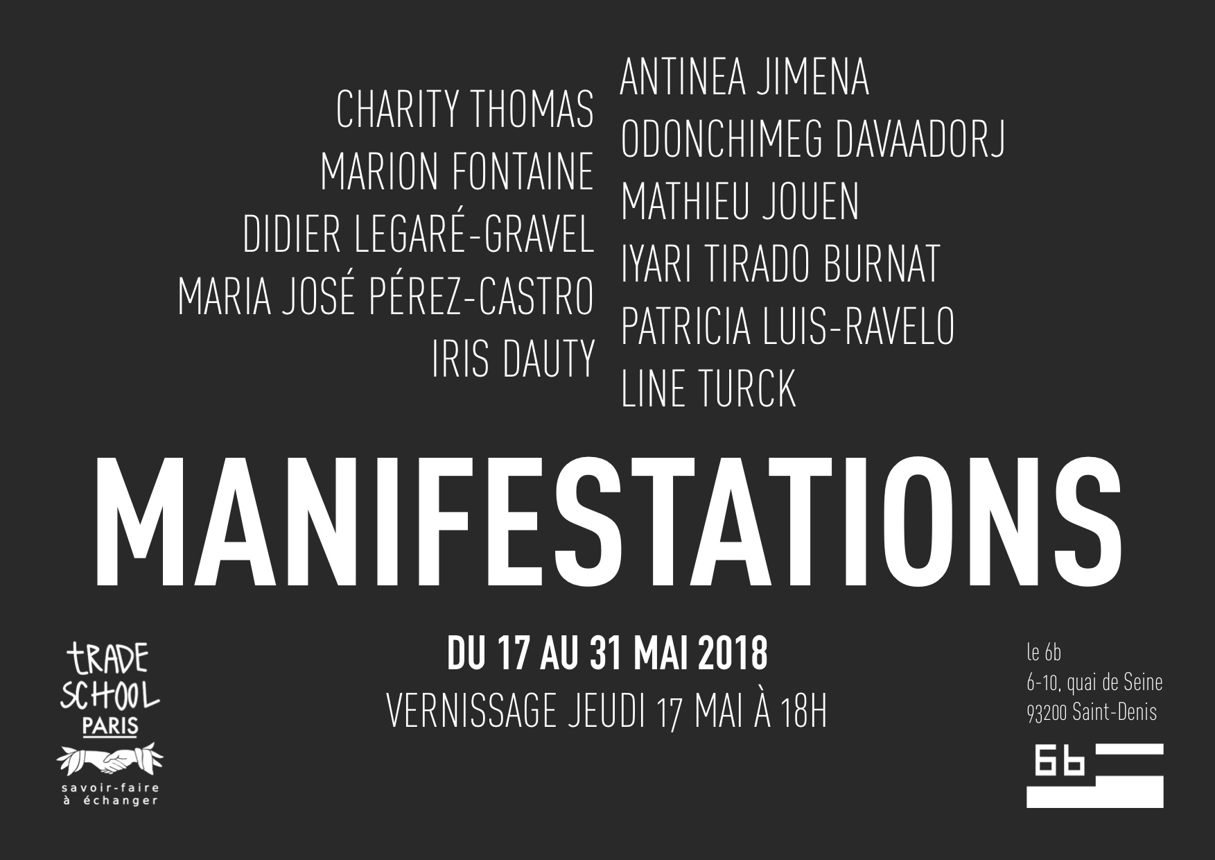 Exposition - Manifestations