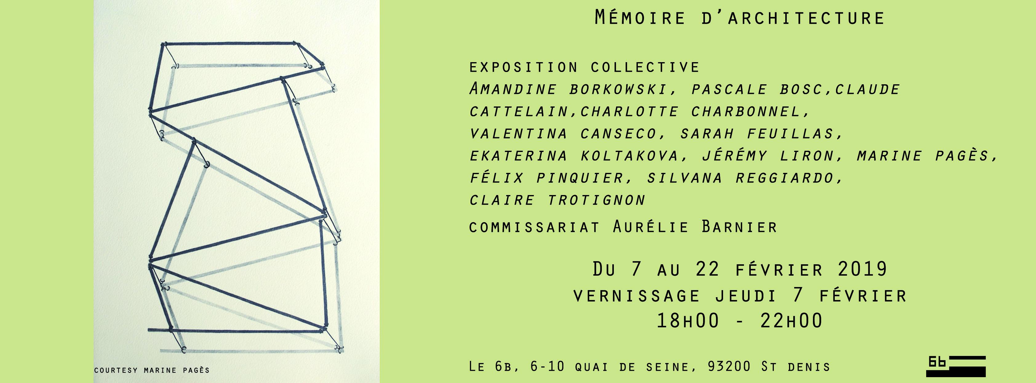 Mémoire d'architecture @ Le 6b