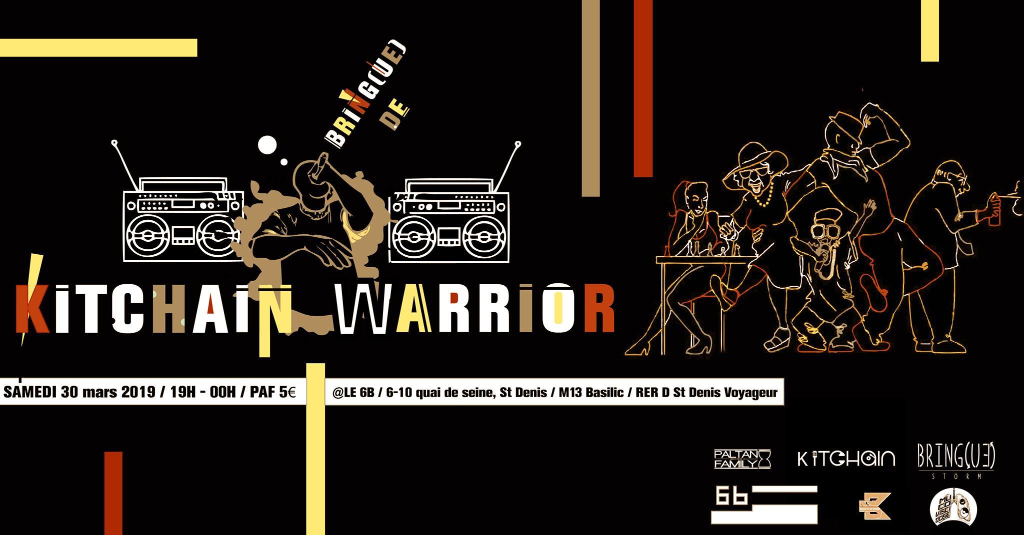 Kitchain Warrior #2 @ Le 6b
