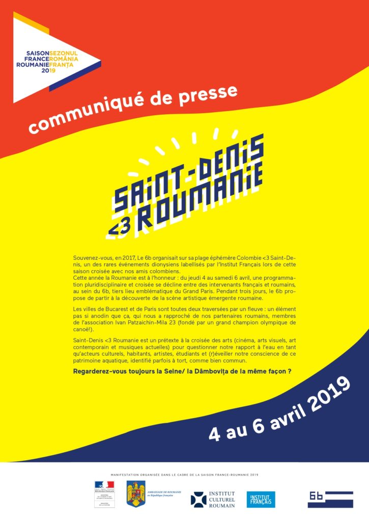 Saint Denis <3 Roumanie @ Le 6b