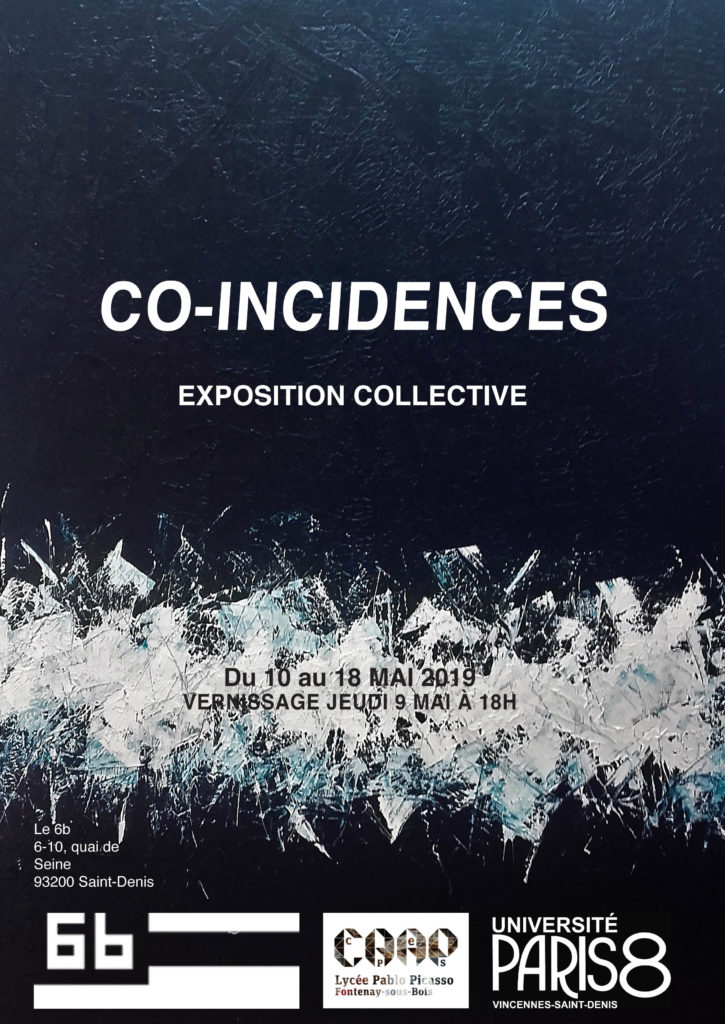 Exposition Co-incidences @ Le 6b