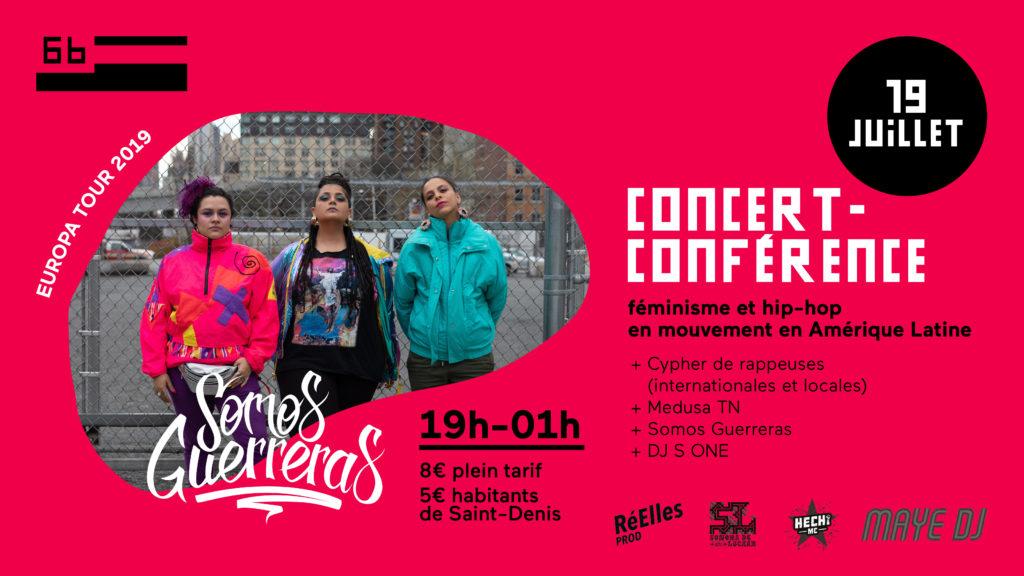 Concert + Conférence Somos Guerreras @ Le 6b