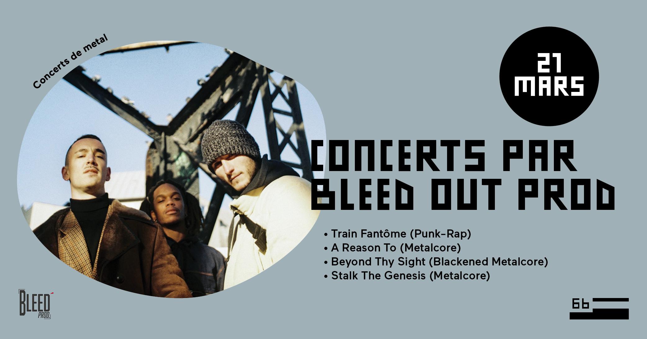 Concerts par Bleed Out